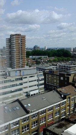 Premier Inn London City (Old Street) Hotel: Vue de la chambre au 12e étage - 1