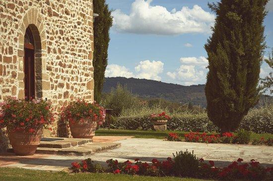 Villa San Crispolto: Villa Grounds