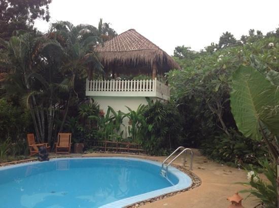 Homestay-Chiang Rai: zwembad en plek voor massage