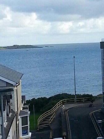 Adelphi Portrush: view from room