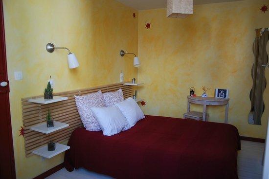 Chambres d'hôtes sur l'île de Ré à la Noue : chambre