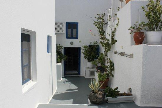 Artemis Villas: Front Door