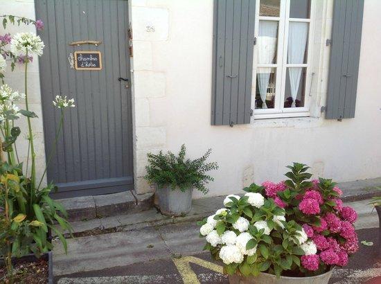 Chambres d'hôtes sur l'île de Ré à la Noue : façade