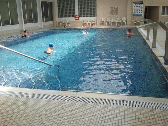 Thalasso Hotel El Palasiet: Piscina termal