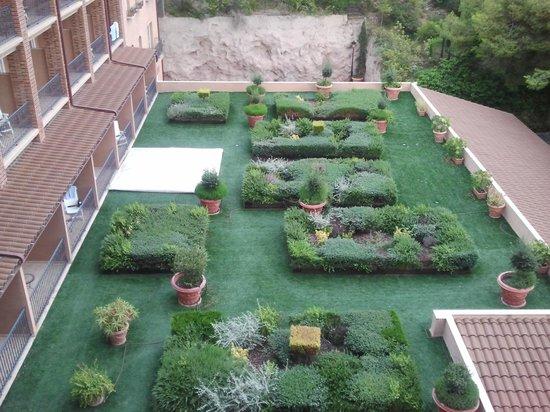 Thalasso Hotel El Palasiet: Vista desde habitación