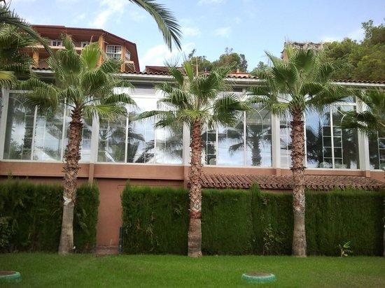 Thalasso Hotel El Palasiet: El spa desde fuera