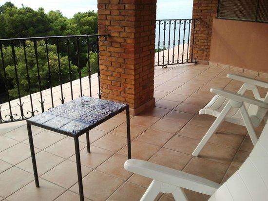 Thalasso Hotel El Palasiet: Terraza habitación doble