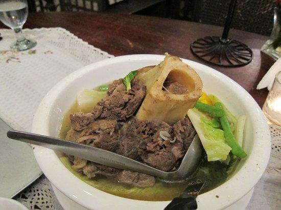 Pamana Restaurant : Bulalo