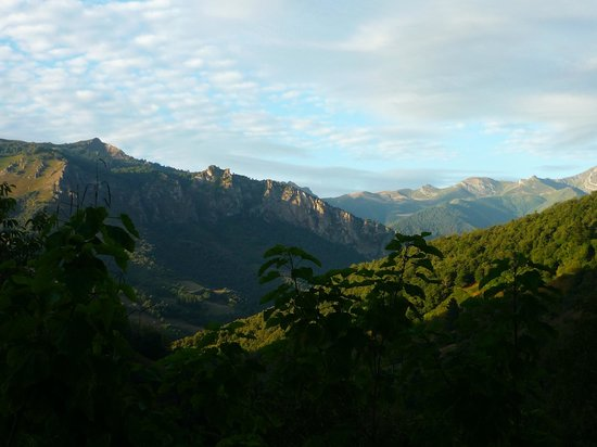 Posada Las Espedillas: Breakfast view