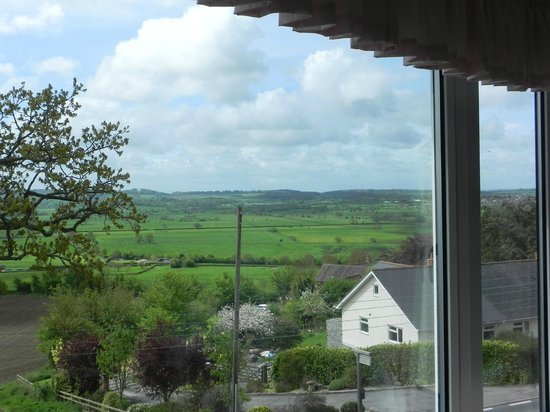 Little Orchard Bed & Breakfast: View from the famliy room