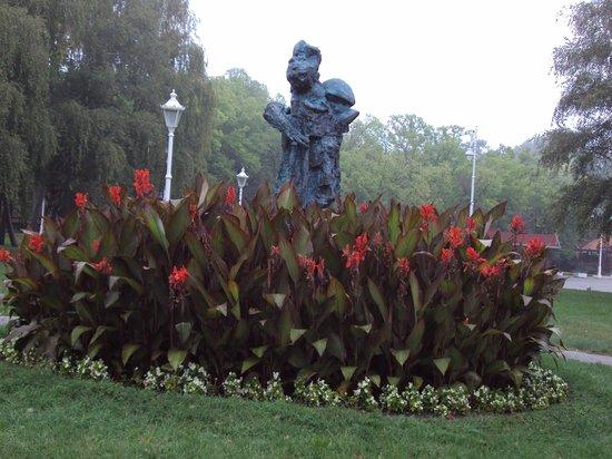 Garni hotel Prezident: flowers everywhere