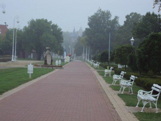 Garni hotel Prezident: park walk way