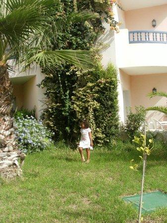 Eden Yasmine Hotel, Meeting & SPA: jardin