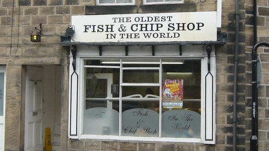 The oldest fish chip shop in the world leeds for Fish restaurant marlborough