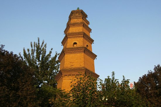 Hua Pagoda of Baoqing Temple