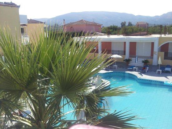 Hera Zakynthos Hotel: from our balcony