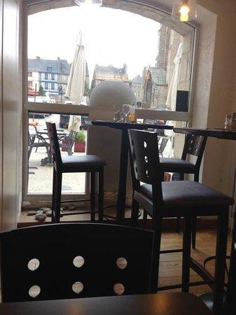 Restaurant Le Kreiz Ker: vue de la salle de restauration