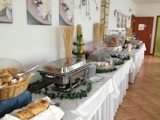 Canarino: Buffet colazione