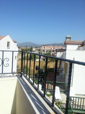 Dogus Hotel: View from top floor bedroom