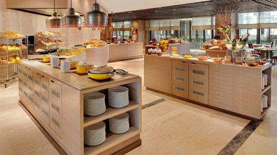 Buffet Set Up Picture Of Cafe Knosh New Delhi Tripadvisor