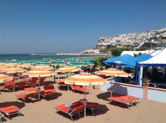 Spiaggia di peschici foto di park hotel valle clavia for Hotel meuble park spiaggia