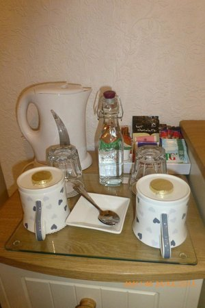 Glyntwrog House: Hospitality Tray