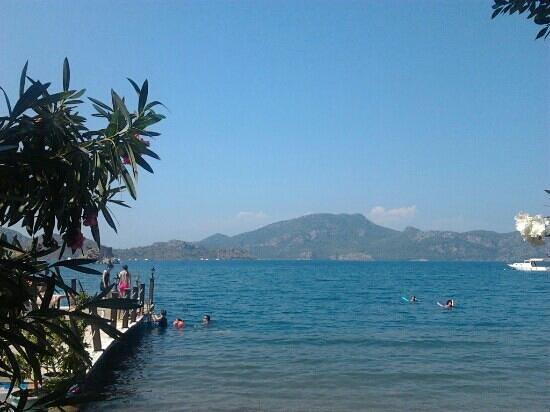 Selimhan Hotel: hotel plajı