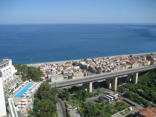 Le Terrazze: Вид из La Terrazza на море