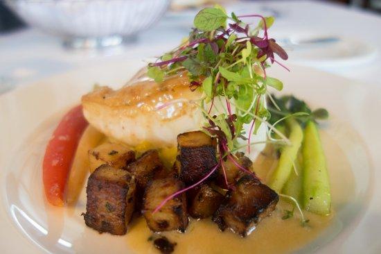Goodstone Inn & Restaurant: LINE CAUGHT CHILEAN SEA BASS