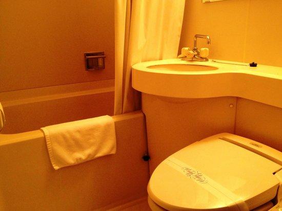 Hotel Sun Crown Oaso: バスルーム