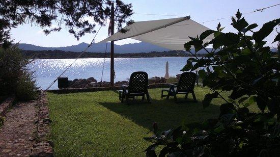 B&B Cala Peticchia: giardino dove facevamo l'aperitivo