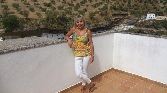 Hotel Villa de Setenil : Vistas desde terraza grande