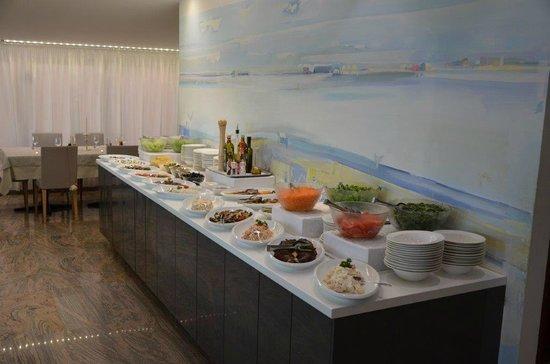 Hotel Bellavista: Vorspeisenbuffet