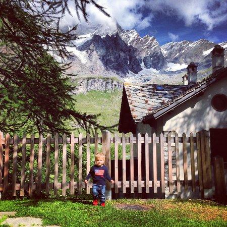 Saint Hubertus Resort: Вид с нашей террасы