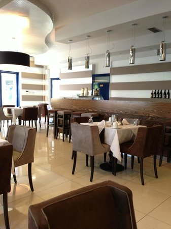 Trokadero: La sala colazioni