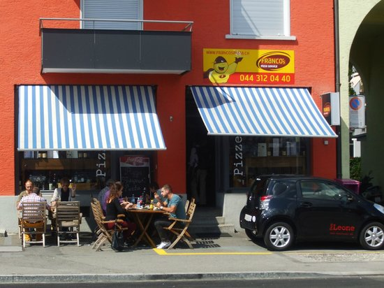 Franco Pizza Kurier Zürich : Building exterior