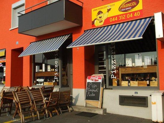 Franco Pizza Kurier Zürich : Exterior view