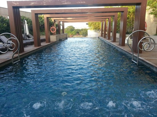 Park Hyatt Hyderabad: Probably the best hotel pool in Hyderabad!