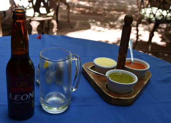 La Felguera: Leon cerveza with lunch