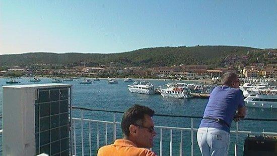 Traghetti Delcomar: vista dal traghetto