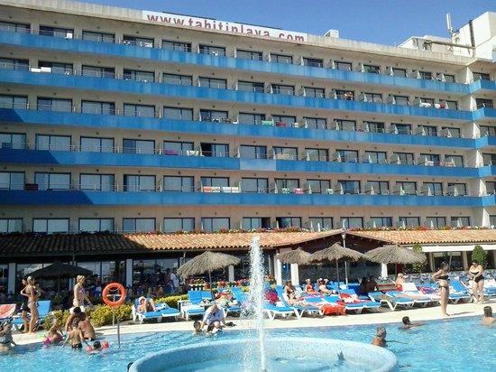 Tahití Playa Hotel: Fachada Hotel Tahiti