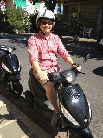 FlorenceTown: Scooter king
