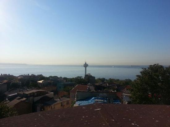 Emine Sultan Hotel & Suites: вид с крыши