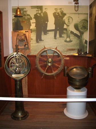 Rimouski, كندا: Le musée maritime, Empress of Ireland
