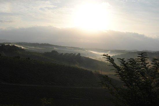 Il Vicario : Tuscany sunrise