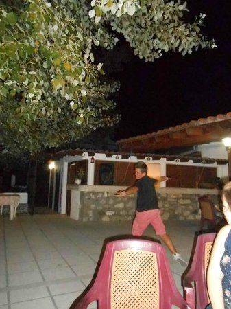 Ampavris: Little Stephen on Greek night