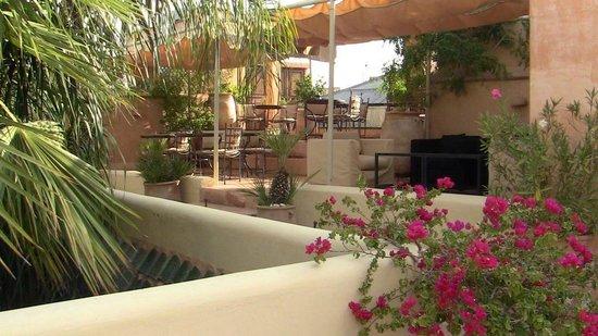 La Villa Nomade : terrasse