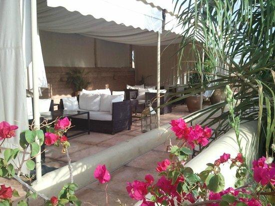 La Villa Nomade : terrasse_