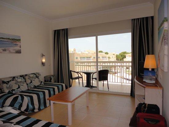 Aparthotel & Hotel Isla de Cabrera: la chambre