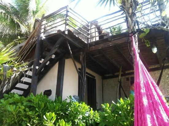 Playa Esperanza: cabaña Josefa :)